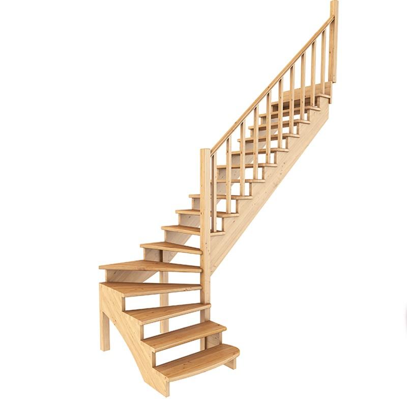 Лестница   К-001м/5  П  сосна (5 уп)