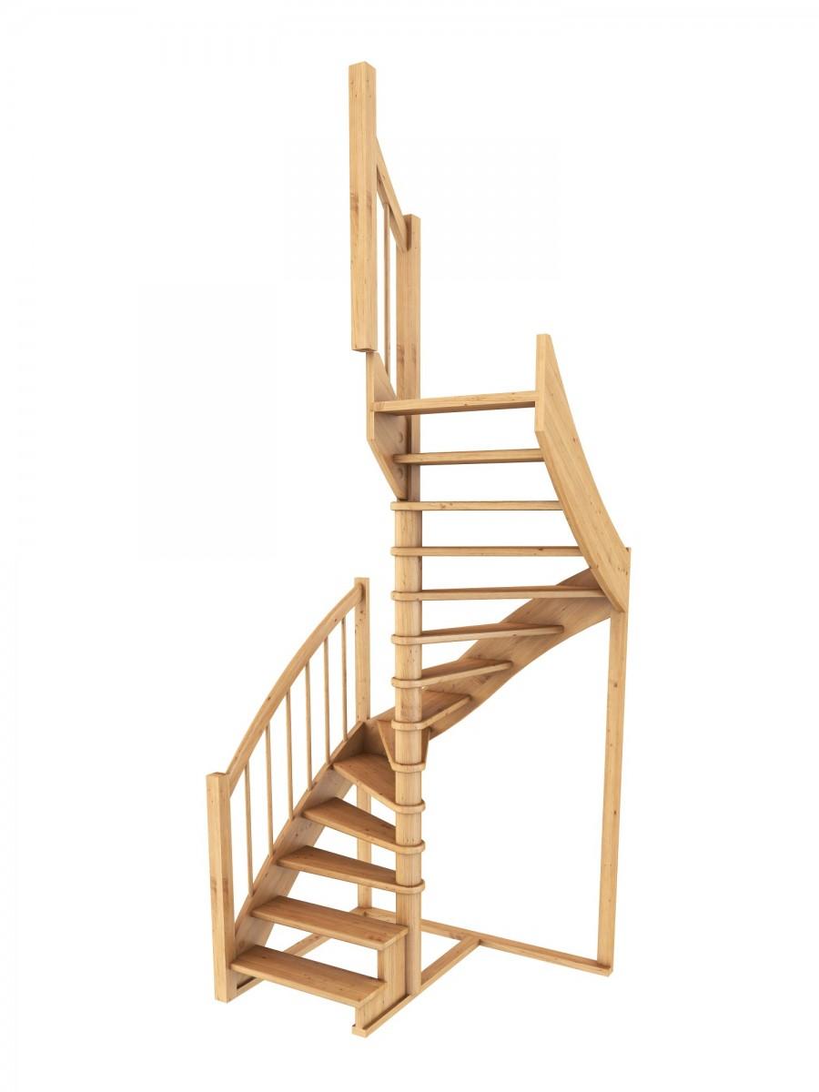Лестница  К-005м/2  П сосна (4 уп)