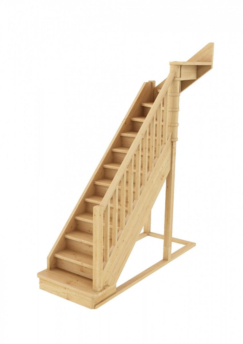 Лестница  ЛС-215м П new сосна (4 уп)