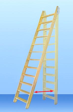 Лестница  М-013у (без поручня), ель (1 уп)