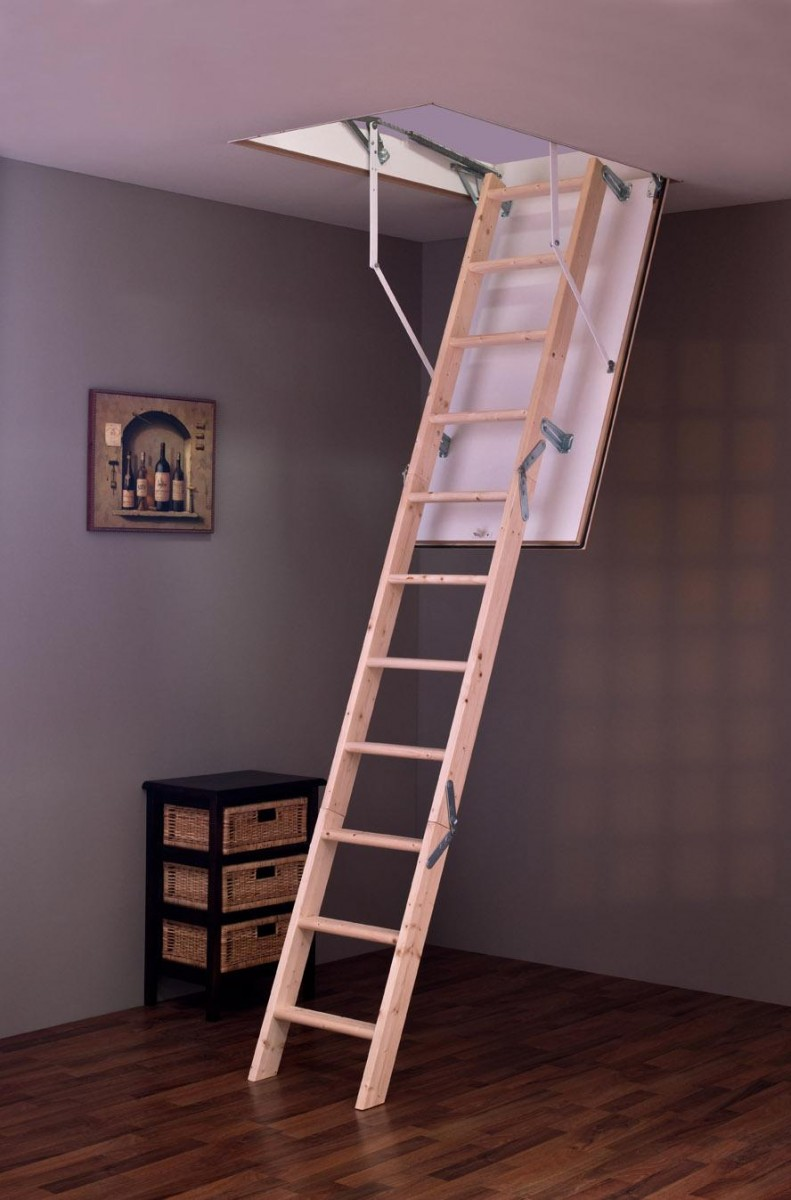 Лестница чердачная MINKA Tradition Plus 110х60
